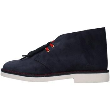 Pantofi Bărbați Ghete Clarks DESERT BOOT 2 BLUE