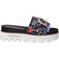 Pantofi Femei Papuci de vară Fornarina PE18FE2901 Negru