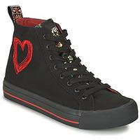 Pantofi Femei Pantofi sport stil gheata Desigual BETA MILITAR Negru