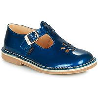 Pantofi Fete Sandale  Aster DINGO Albastru / Lac