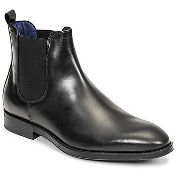 Pantofi Bărbați Ghete Azzaro SEVILLE Negru