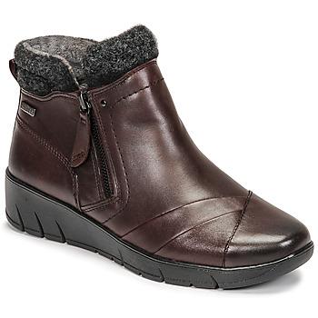 Pantofi Femei Ghete Jana GHERRA Bordo