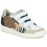 Pantofi Femei Pantofi sport Casual Serafini SAN DIEGO Alb / Argintiu / Leopard