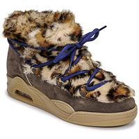 Pantofi Femei Ghete Serafini MOON LOW Leopard