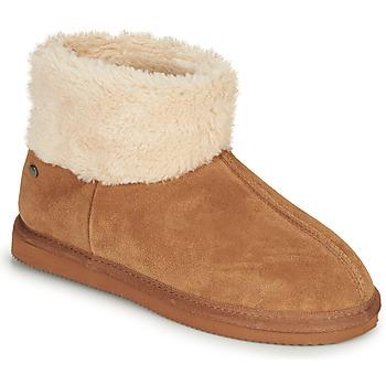 Pantofi Femei Papuci de casă Isotoner 97307 Camel