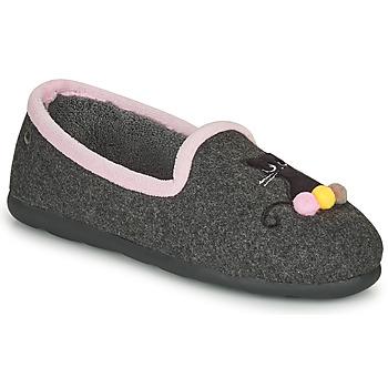 Pantofi Femei Papuci de casă Isotoner 97311 Gri / Roz