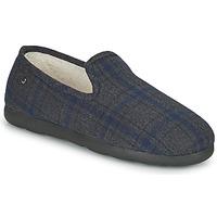 Pantofi Bărbați Papuci de casă Isotoner 98038 Gri / Albastru