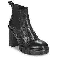 Pantofi Femei Botine Fru.it CAMILLA Negru