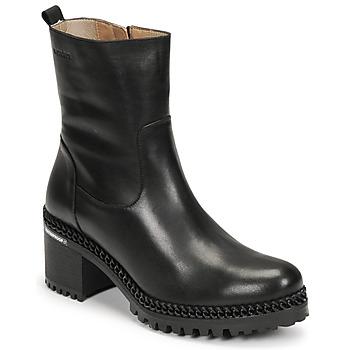 Pantofi Femei Botine Wonders H-3932 Negru