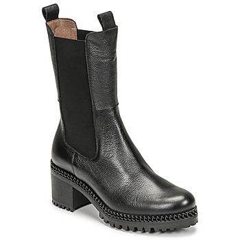 Pantofi Femei Botine Wonders H-3930 Negru