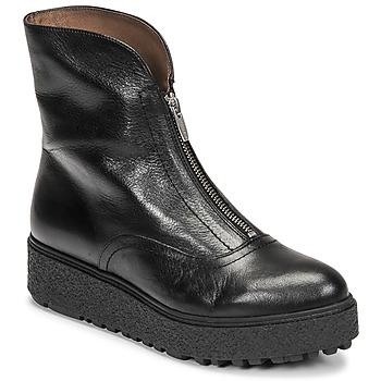 Pantofi Femei Ghete Wonders A-9520 Negru