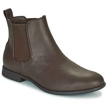 Pantofi Bărbați Ghete Jack & Jones JFW MITCHELL CHELSEA Maro