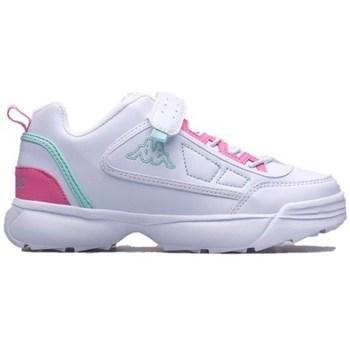 Pantofi Copii Pantofi sport Casual Kappa Rave MF K Alb, Roz
