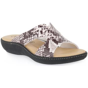 Pantofi Femei Papuci de vară Emanuela 1871 MARASSO CRAK Beige