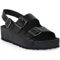 Pantofi Femei Sandale  Frau NERO NATURAL Nero