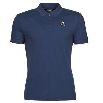 Îmbracaminte Bărbați Tricou Polo mânecă scurtă Le Coq Sportif ESS POLO SS N 1 M Albastru