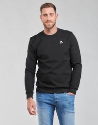 Îmbracaminte Bărbați Hanorace  Le Coq Sportif ESS CREW SWEAT N 3 M Negru