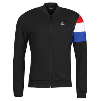 Îmbracaminte Bărbați Bluze îmbrăcăminte sport  Le Coq Sportif TRI FZ SWEAT N 1 M Negru