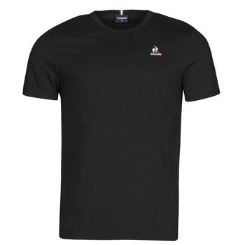 Îmbracaminte Bărbați Tricouri mânecă scurtă Le Coq Sportif ESS TEE SS N 3 M Negru