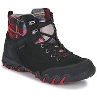 Pantofi Femei Drumetie și trekking Allrounder by Mephisto NIGATA TEX Negru / Roșu