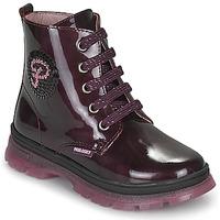 Pantofi Fete Ghete Pablosky 404099 Bordo