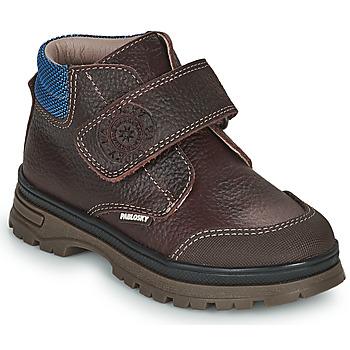 Pantofi Băieți Ghete Pablosky 502993 Maro