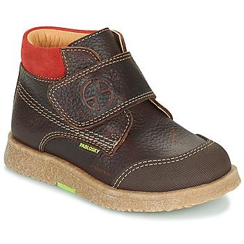 Pantofi Băieți Ghete Pablosky 502593 Maro