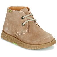 Pantofi Băieți Ghete Pablosky 502148 Camel