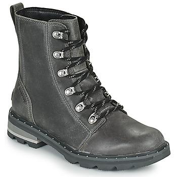 Pantofi Femei Ghete Sorel LENNOX LACE Gri