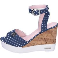 Pantofi Femei Sandale  Lancetti BJ942 Albastru