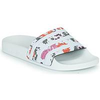Pantofi Femei Șlapi adidas Originals ADILETTE W Alb / Flori