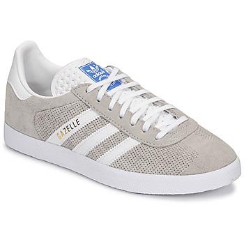 Pantofi Pantofi sport Casual adidas Originals GAZELLE Gri / Crem