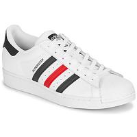 Pantofi Pantofi sport Casual adidas Originals SUPERSTAR Alb / Albastru / Roșu