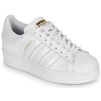 Pantofi Femei Pantofi sport Casual adidas Originals SUPERSTAR BOLD W Alb