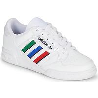 Pantofi Copii Pantofi sport Casual adidas Originals CONTINENTAL 80 STRI J Alb / Verde / Albastru