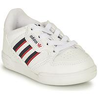 Pantofi Copii Pantofi sport Casual adidas Originals CONTINENTAL 80 STRI I Alb / Albastru