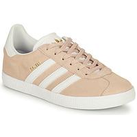 Pantofi Fete Pantofi sport Casual adidas Originals GAZELLE J Roz