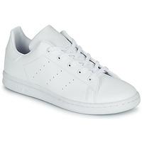 Pantofi Copii Pantofi sport Casual adidas Originals STAN SMITH C Alb