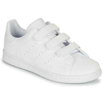 Pantofi Copii Pantofi sport Casual adidas Originals STAN SMITH CF C Alb
