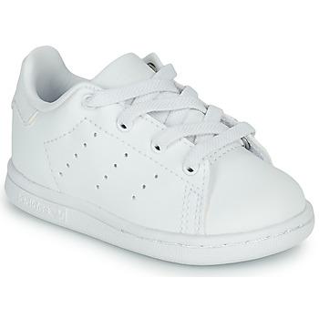 Pantofi Copii Pantofi sport Casual adidas Originals STAN SMITH EL I Alb