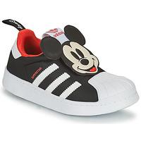 Pantofi Băieți Pantofi sport Casual adidas Originals SUPERSTAR 360 C Negru / Mickey