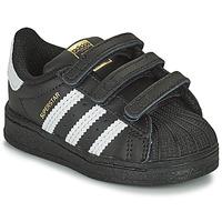 Pantofi Copii Pantofi sport Casual adidas Originals SUPERSTAR CF I Negru / Alb