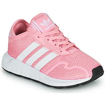 Pantofi Fete Pantofi sport Casual adidas Originals SWIFT RUN X C Roz