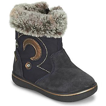 Pantofi Fete Cizme de zapadă Primigi SNORKY GTX Albastru / Maro