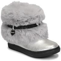 Pantofi Fete Ghete Primigi BABY LUX Argintiu
