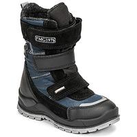 Pantofi Băieți Cizme de zapadă Primigi HANS GTX Negru / Albastru