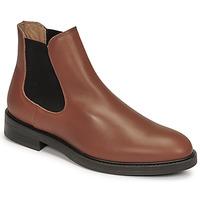 Pantofi Bărbați Ghete Selected CHELSEA Coniac