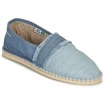 Pantofi Espadrile Havaianas ESPADRILLE FUR Albastru