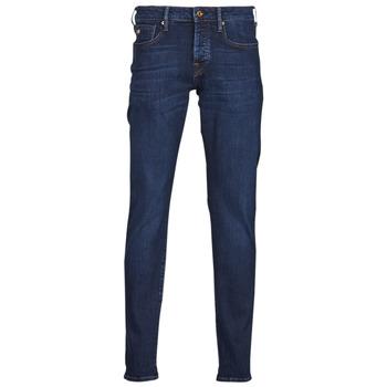 Îmbracaminte Bărbați Jeans slim Scotch & Soda RALSTON REGULAR SLIM Albastru / Culoare închisă