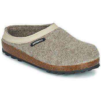 Pantofi Femei Papuci de casă Giesswein CHAMEREAU Bej